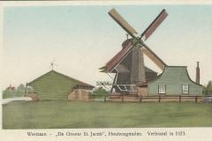 026 De Groote St. Jacob Houtzaagmolen Westzaan