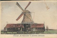 032 Oliemolen De Kopermolen Oostzijde Zaandam