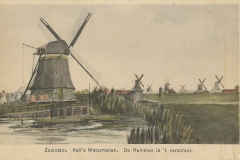 079 Zaandam Kalfs Watermolen De Hemmes in t verschiet