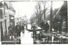 148 Zaandam Oostzijde Watersnood 1916