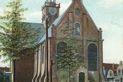 166 Zaandam Kerk Westzijde ingekleurd