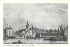 188 Oostzijderkerk Anno 1725 te Zaandam