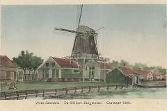 063 West-Zaandam De Dikkert Zaagmolen