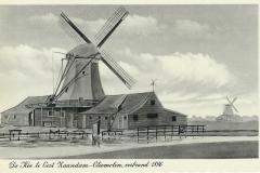 073 De Koe Oost-Zaandam oliemolen