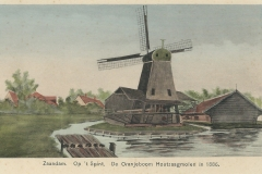 086 Zaandam op t Spint De Oranjeboom Houtzaagmolen