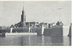 175 Zaandam Beatrixbrug met Oostzijderkerk